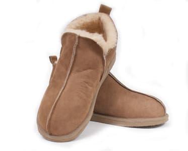shepherd-pantoffels - schapenvacht pantoffels