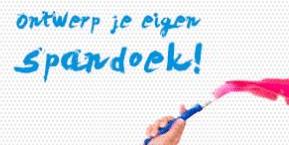 Spandoek maken   Spandoeken vanaf €3,75   De SpandoekGigant